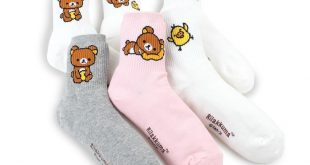 Details about (5Pairs) Christmas Crew Socks Women Girls Kids Costume Gifts Accessories Party15