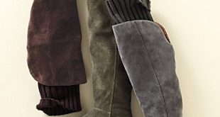 winter riding boots.