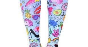 Glam Girl Knee High Socks