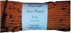 Funky Retro Pixel Handmade Wool Unisex bed / sofa Socks Personalised Multicolour Women Men