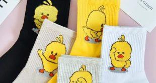 ALL 639.41 41 Off   5pairs/set Harajuku Duck Animal Socks Short Cartoon Patt 20...