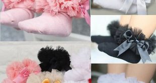 Baby Girls Princess Bowknot Lace Floral Short Socks