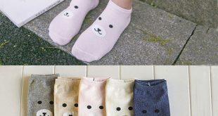 Fashion Cartoon Animal Patterned Short Socks Women Cute Panda Funny Low Socks Fe...