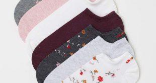 H&M 7-pack Ankle Socks - Gray