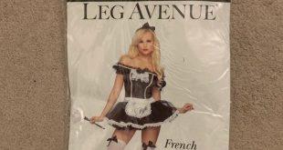 Leg Avenue French maid costume XS Leg Avenue French maid costume. Size XS. Worn ...
