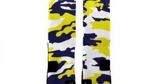 MICHIGAN CAMO HoopSwagg Customized Socks, All Shoe Sizes, Perfect Funny Gift, Cute Gift,