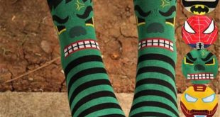 New arrival socks women cotton autumn-winter iron man spider-man cartoon crazy s...