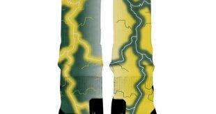 OREGON STORM Custom Nike Elite Socks, All Shoe Sizes, Perfect Funny Gift, Cute Gift, HoopSwagg