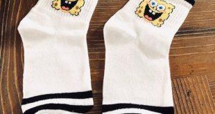SpongeBob Socks New Ankle socks Accessories Hosiery & Socks