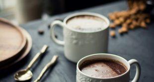 VEGAN Choco Banana Chai Latte